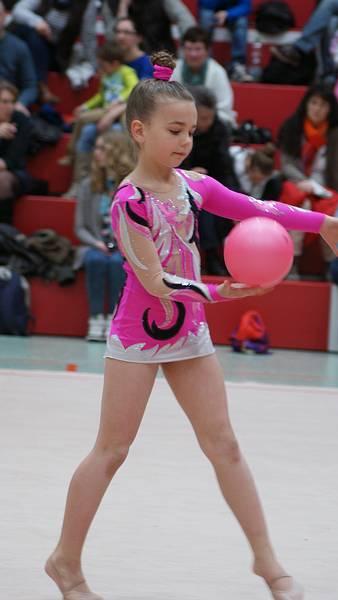 rhythmische sportgymnastik ball