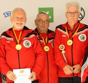 v.l. Siegfried Haufe, Karl Riek und Herbert Rieke